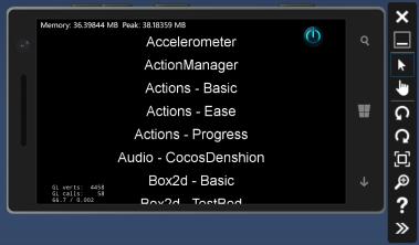 cocos2d-emulator