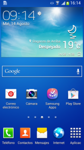 Samsung S4 TouchWiz